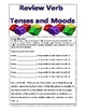 Review Verb Tenses and Moods with Dice
