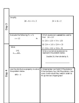 Review Weeks 4-6 and Review Quiz