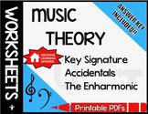Review Worksheets: Key Signature, Accidentals, Enharmonic!
