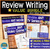 Review Writing BUNDLE (DISTANCE LEARNING supported)