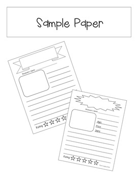 Review Writing Late 1st grade or Early 2nd grade