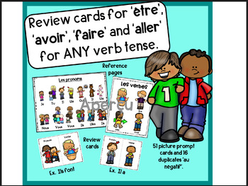 'Être', 'avoir', 'faire', and 'aller' in ANY verb tense