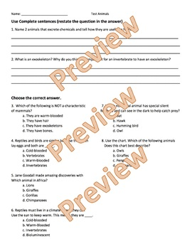Review and Assessment for Animal Unit