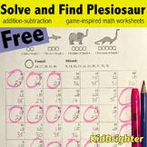 Grade 1 Math Worksheets Solve and Find