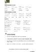Review and Practice: Math Mastery Check Worksheet