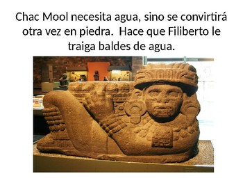 Review for Chac Mool by Carlos Fuentes