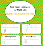 60 Review Cards for Math SOL with Number and Number Sense