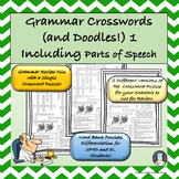 Grammar Fun with Crosswords and Doodles 1 Parts of Speech