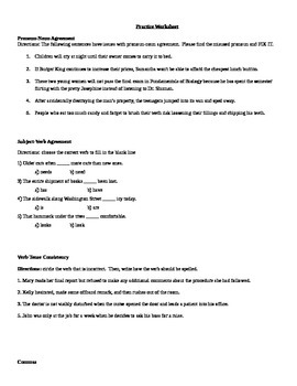 Review for Writing Assessment