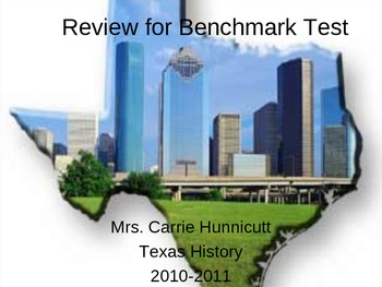 Review for first benchmark test