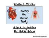 Review in Fifteen: Human Body Graphic Organizers