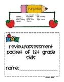 Review of 1st Grade Packet