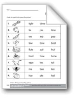 Review of All Long Vowel Spelling Patterns