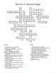 Review of Ancient Egypt - Crossword Puzzle