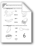 Review of Beginning/Ending Sounds and Vowels