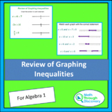 Review of Graphing Inequality Statements