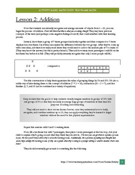 Ten frame math : Developing mathematical reasoning, adding and subtracting
