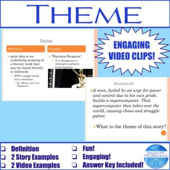 Review of Literary Terms: Theme