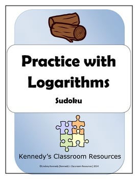 Review of Logarithms - Sudoku Puzzle
