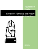 Review of Narrative and Poetry Terms for Standardized Tests