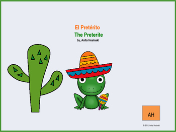 Review of Preterite Tense- El Pretérito