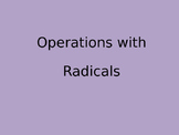 Review of Radical Operations