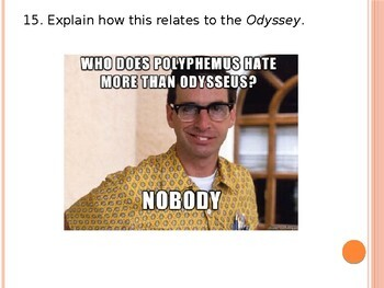 Review of the Odyssey with Memes