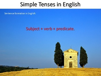 Review of the Simple Tenses in English