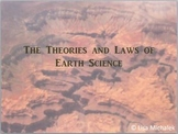 Review of the Theories and Laws of Earth Science