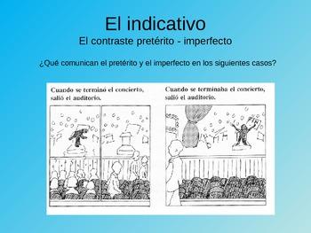 Review of the uses of Spanish Verb Tenses  - Repaso uso de tiempos verbales