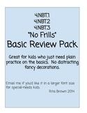 Review or Assessment  Pack 4.nbt.1 4.nbt.2  4.nbt.3   4th Grade