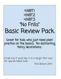 Review or Assessment  Pack 4.nbt.1 4.nbt.2  4.nbt.3   4th Grade