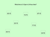 Reviewing 24 Hour Time - Interactive Powerpoint