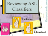 Reviewing American Sign Language Classifiers