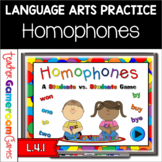 Reviewing Homophones - A Powerpoint Game