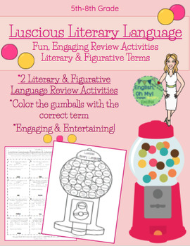 Reviewing Literary & Figurative Terms-Engaging Activity