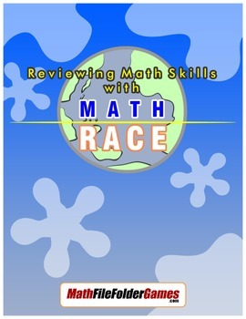 """Reviewing Math Skills with """"Math Race"""""""
