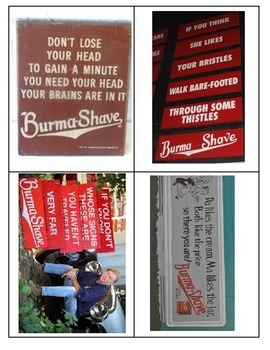 Reviewing Rhythm with Burma Shave!
