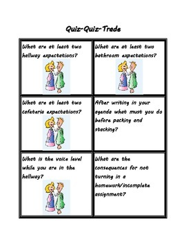 Reviewing Rules and Procedures Quiz Quiz Trade