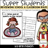 Reviewing School and Classroom Rule
