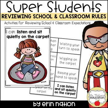 Reviewing School and Classroom Rules