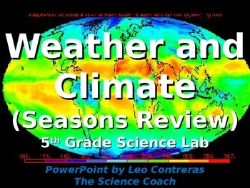 Reviewing Seasons with 5th Grade to Introduce Weather