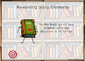 Reviewing Story Elements Flipchart