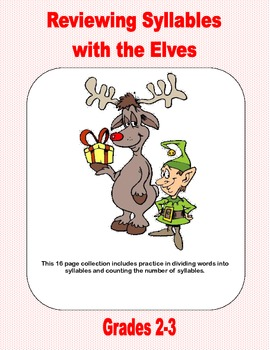 Reviewing Syllables With The Elves-Grades 2-3