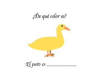 Reviewing colors in Spanish