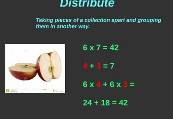 Prezi for reviewing multiplications properties and methods.