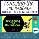 Reviewing the Microscope Interactive Digital Notebook - Di