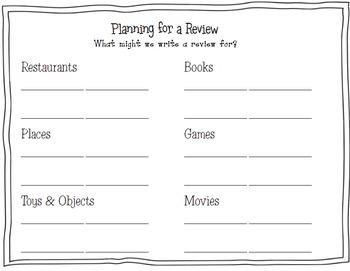 Reviews Unit of Study