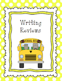 Writing Reviews Unit!