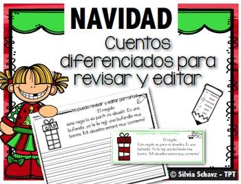 Cuentos diferenciados para revisar y editar - Navidad
